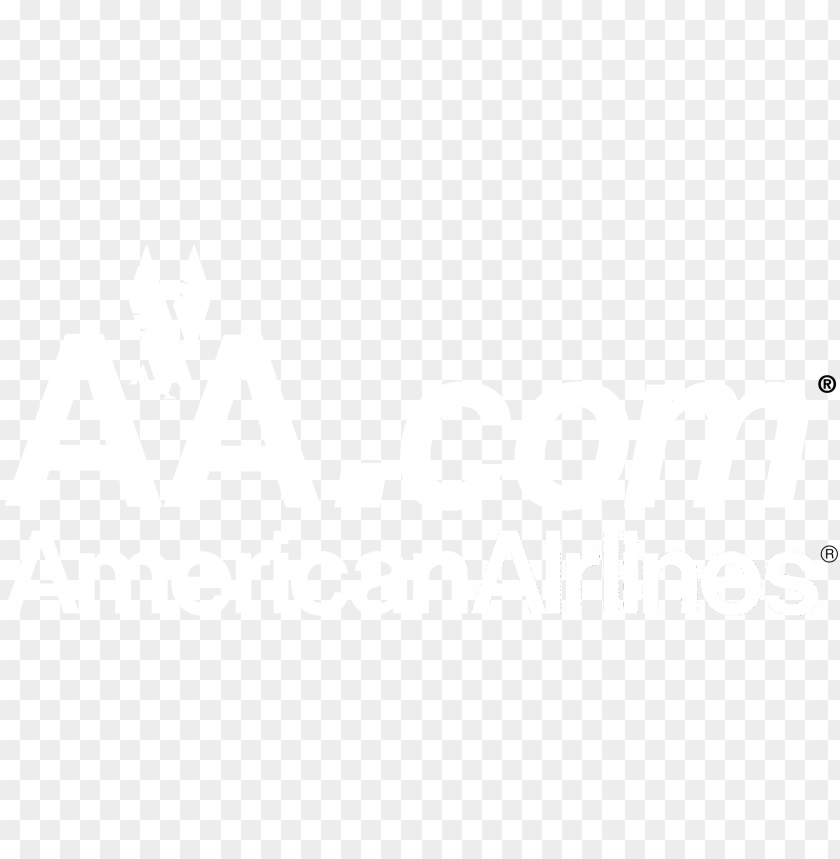 aa com american airlines logo black and white - monochrome PNG image with transparent background@toppng.com