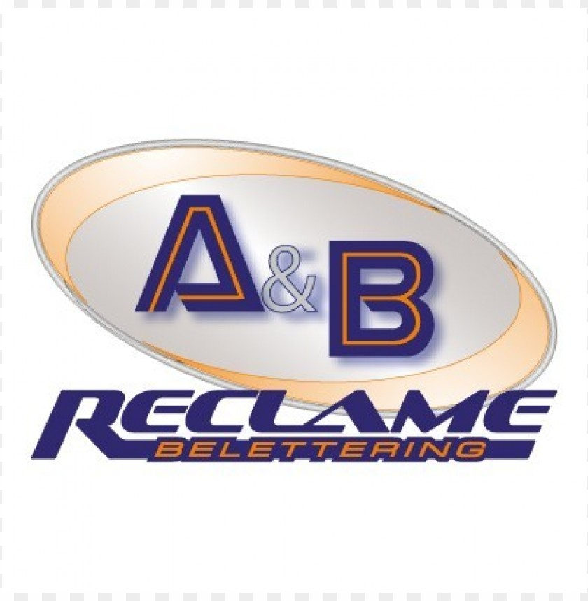 free PNG a&b reclame logo vector PNG images transparent