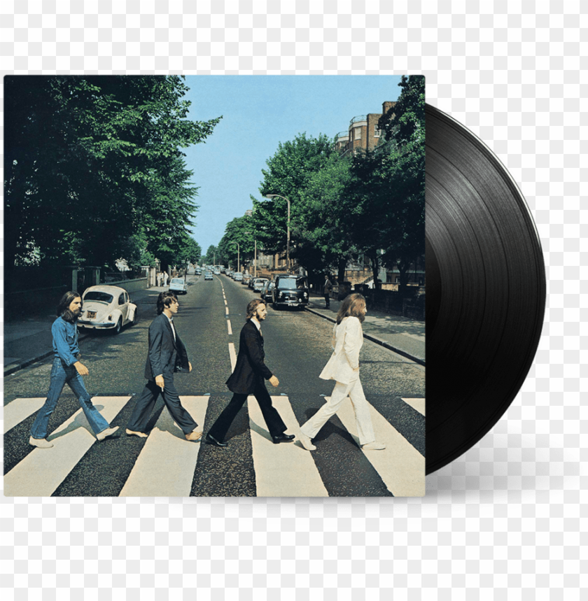 free PNG abbey road vinyl the beatles - abbey road album cover PNG image with transparent background PNG images transparent