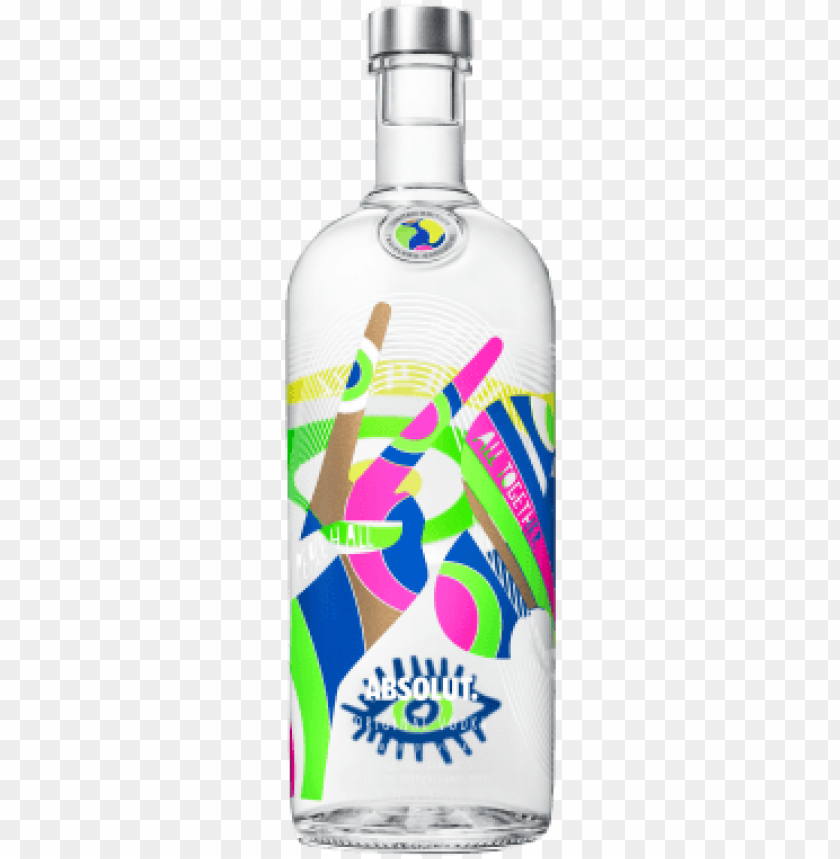 free PNG absolut world limited edition - absolut vodka raspberri - 1 l bottle PNG image with transparent background PNG images transparent