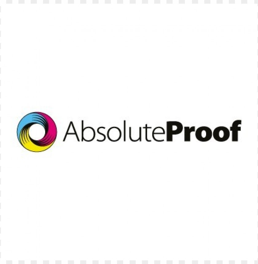 free PNG absolute proof logo vector PNG images transparent
