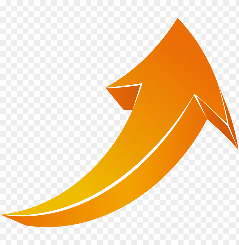 free PNG abstract, angle, arrow signs, arrowheads, aşağı ok, - orange curved arrow PNG image with transparent background PNG images transparent