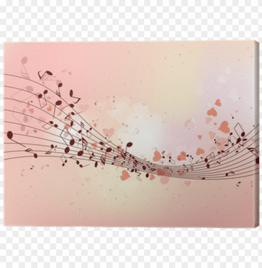 free PNG abstract design background with colourful music notes - free colorful music notes background PNG image with transparent background PNG images transparent