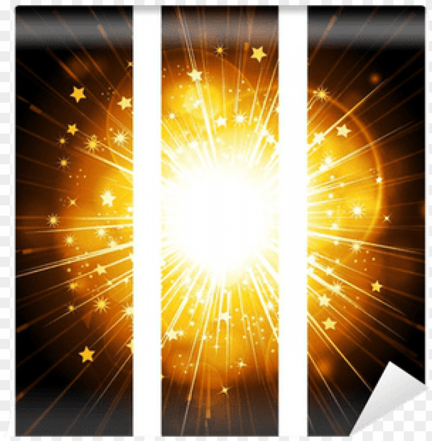 free PNG abstract glowing star burst banner background wall - poster PNG image with transparent background PNG images transparent