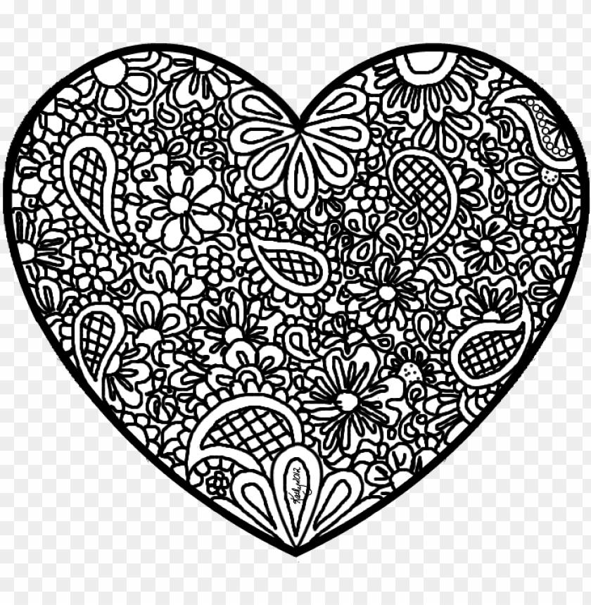 40 Tremendous Printable Heart Coloring Pages Image Ideas ... | 859x840