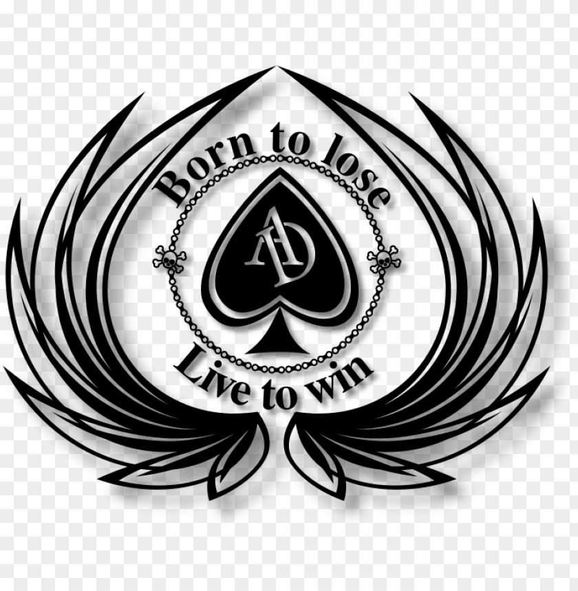 free PNG ace of spades logo png - ace of spades logos PNG image with transparent background PNG images transparent