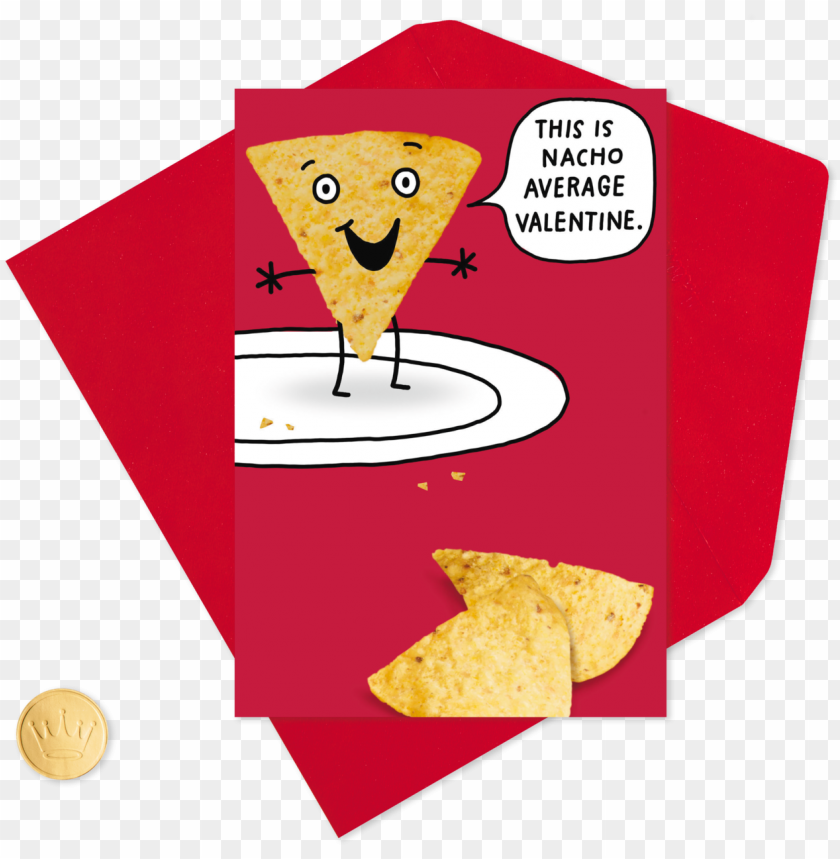free PNG acho chip and queso funny valentine's day PNG image with transparent background PNG images transparent