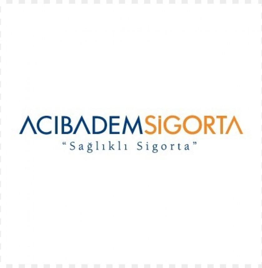 free PNG acibadem sigorta logo vector PNG images transparent