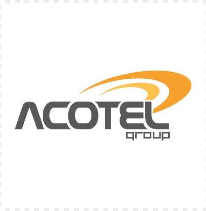 free PNG acotel group logo vector PNG images transparent
