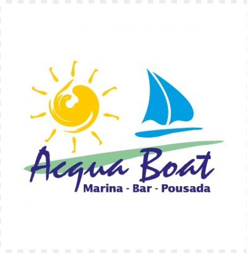 free PNG acqua boat logo vector PNG images transparent