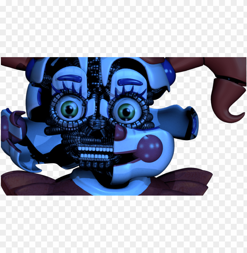 Added Sound Jumpscare Game Five Nights At Freddy Sister Fnaf Sl Jumpscare Sound Png Image With Transparent Background Toppng