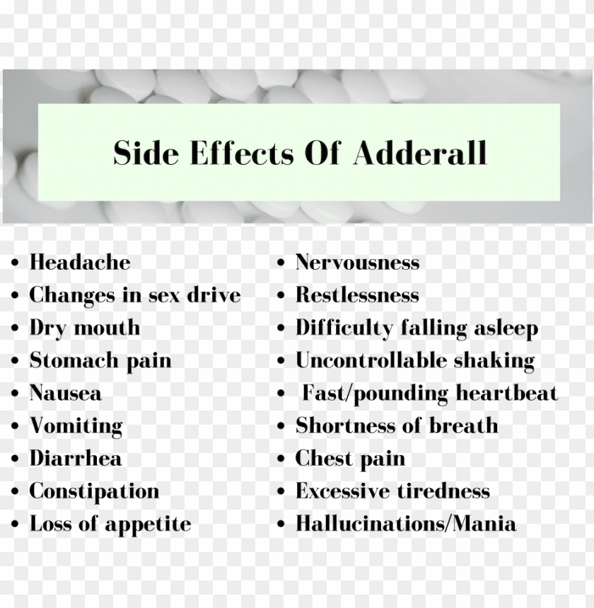 Adderall Has Serious Side Effects Frases Sobre El Medio