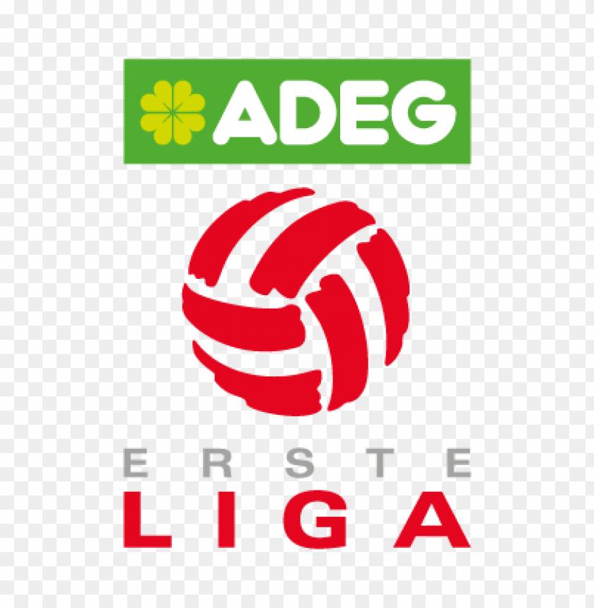 free PNG adeg erste liga vector logo PNG images transparent