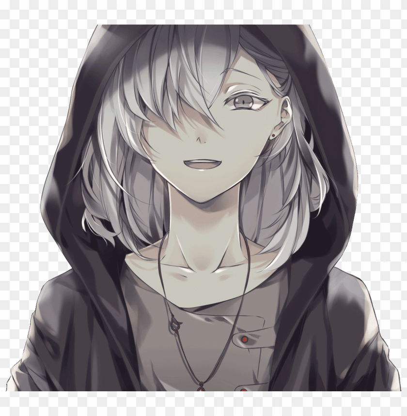 free PNG adha 16 years female - anime boy white hair red eyes PNG image with transparent background PNG images transparent
