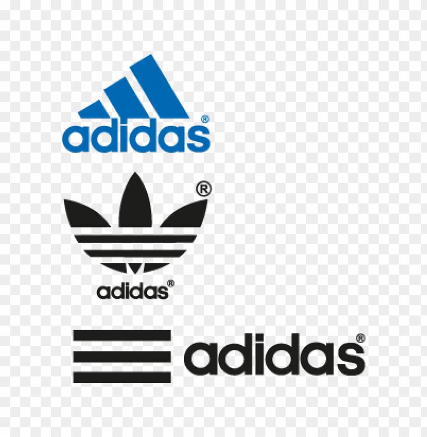 crecimiento arma hilo  adidas vector logo free   TOPpng