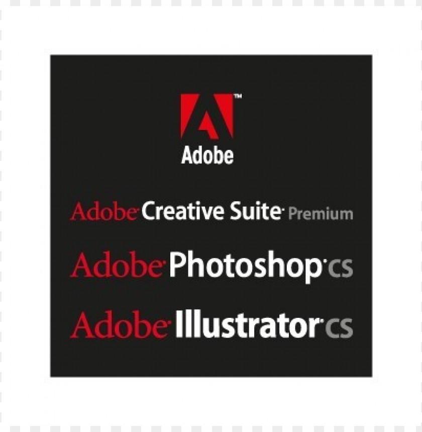 adobe black logo vector@toppng.com