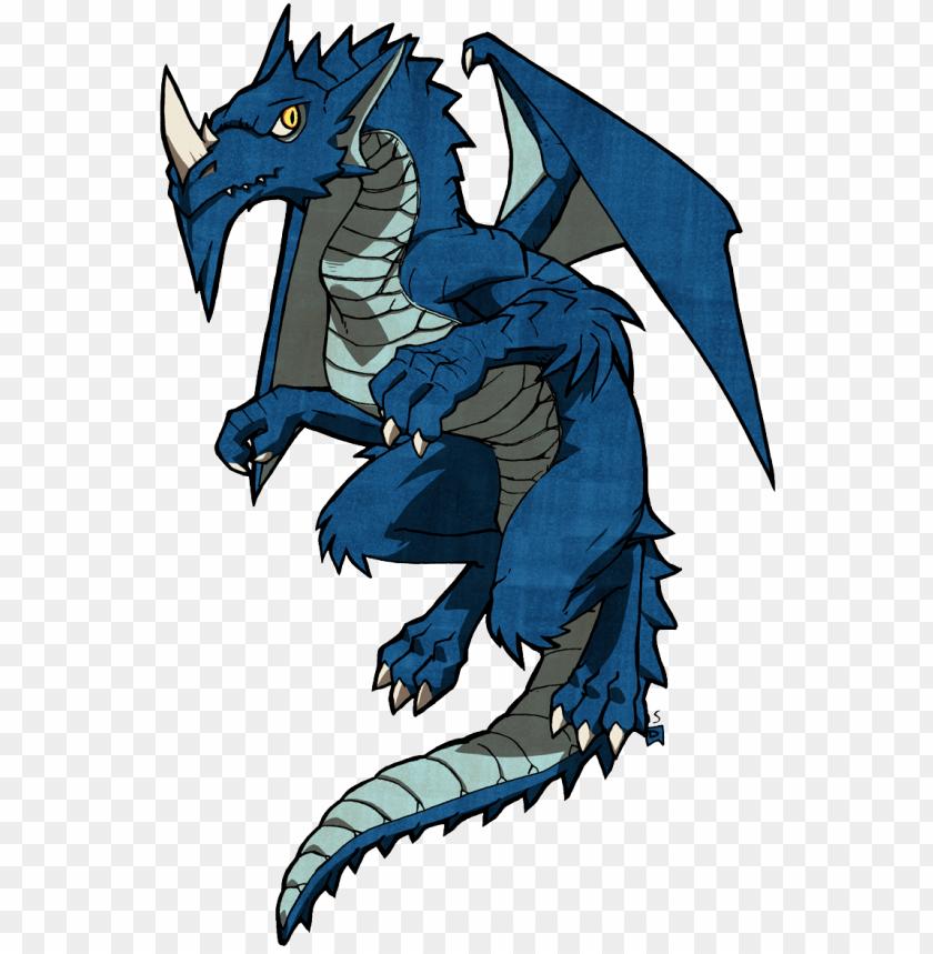 free PNG adult blue dragon - d&d adult blue drago PNG image with transparent background PNG images transparent