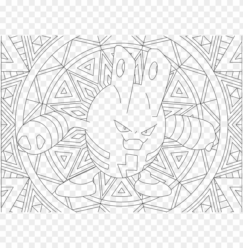 free PNG adult pokemon coloring page elekid PNG image with transparent background PNG images transparent