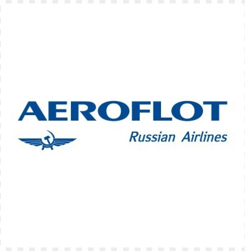 free PNG aeroflot russian airlines logo vector PNG images transparent