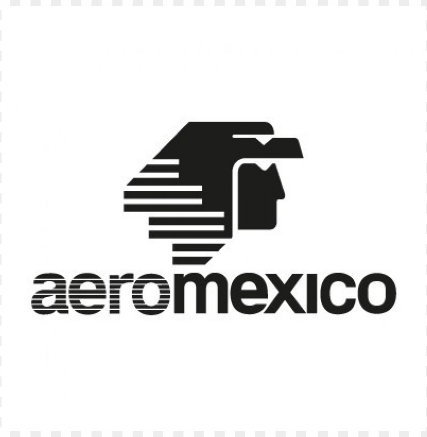 free PNG aeromexico black logo vector PNG images transparent