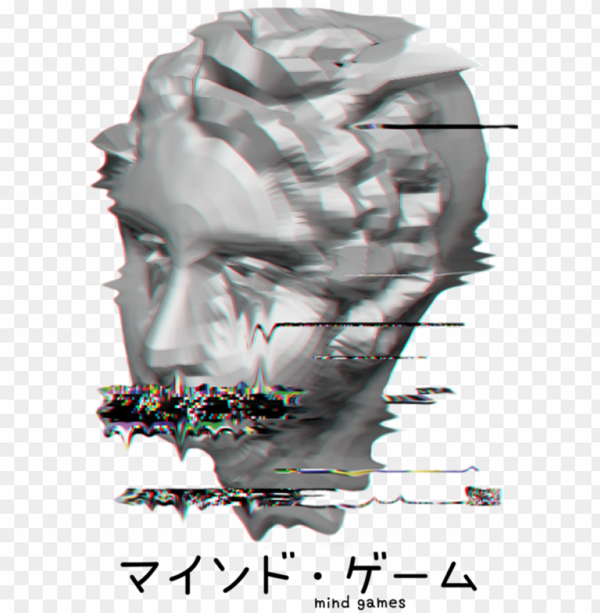 Aesthetic Tumblr Vaporwave Glitch Melting Statue Weird Glitch