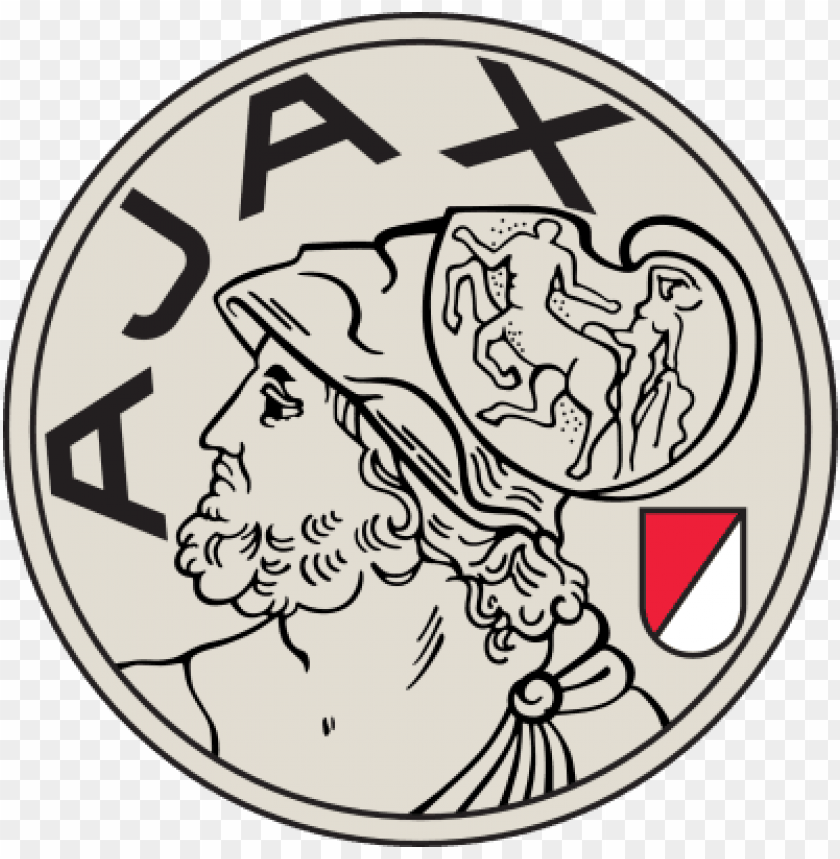 free PNG afc ajax old 3 - ajax amsterdam old logo PNG image with transparent background PNG images transparent