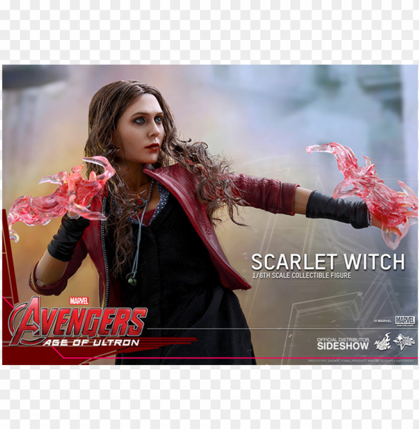 free PNG age of ultron - hot toys 1:6 scale scarlet witch avengers age of ultro PNG image with transparent background PNG images transparent