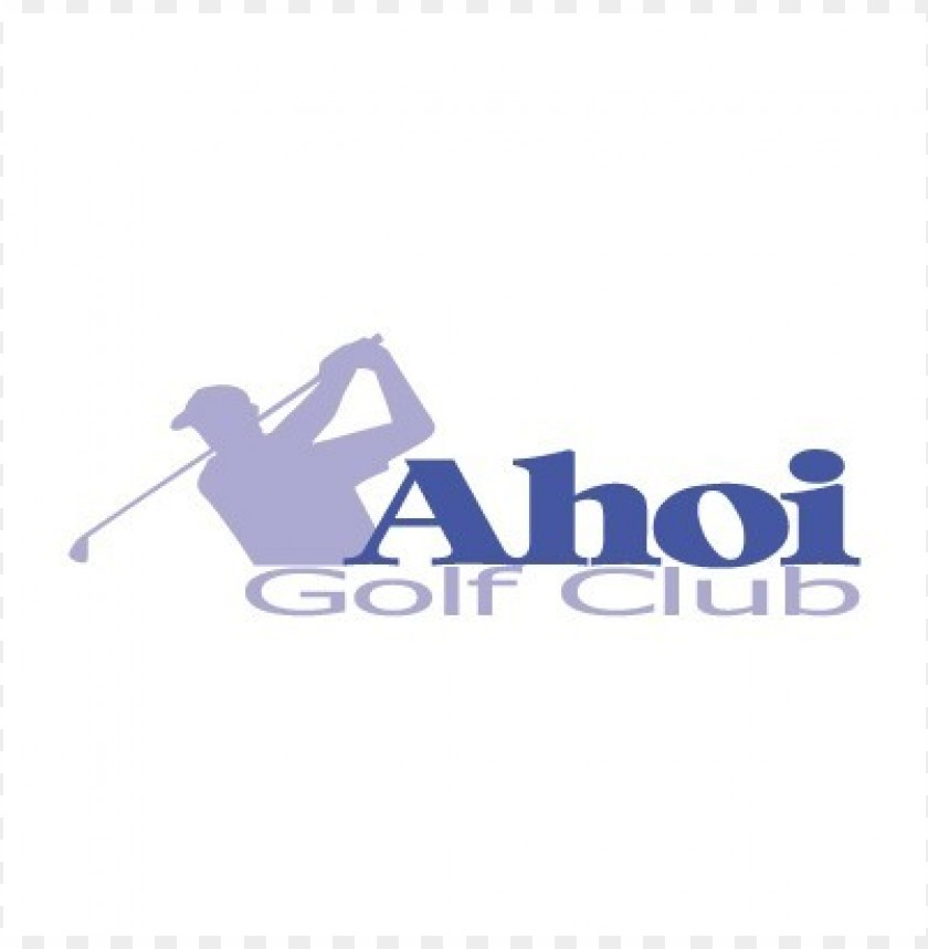 free PNG ahoi golf club logo vector PNG images transparent