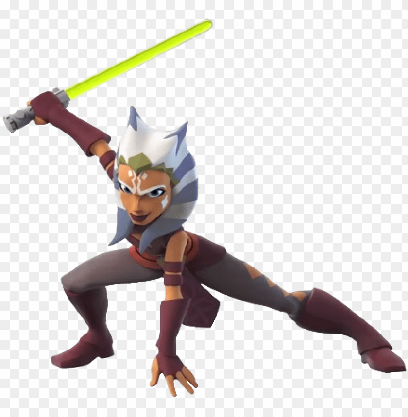 Ahsoka Tano Disney Infinity 3 0 Clone Wars Png Image With Transparent Background Toppng