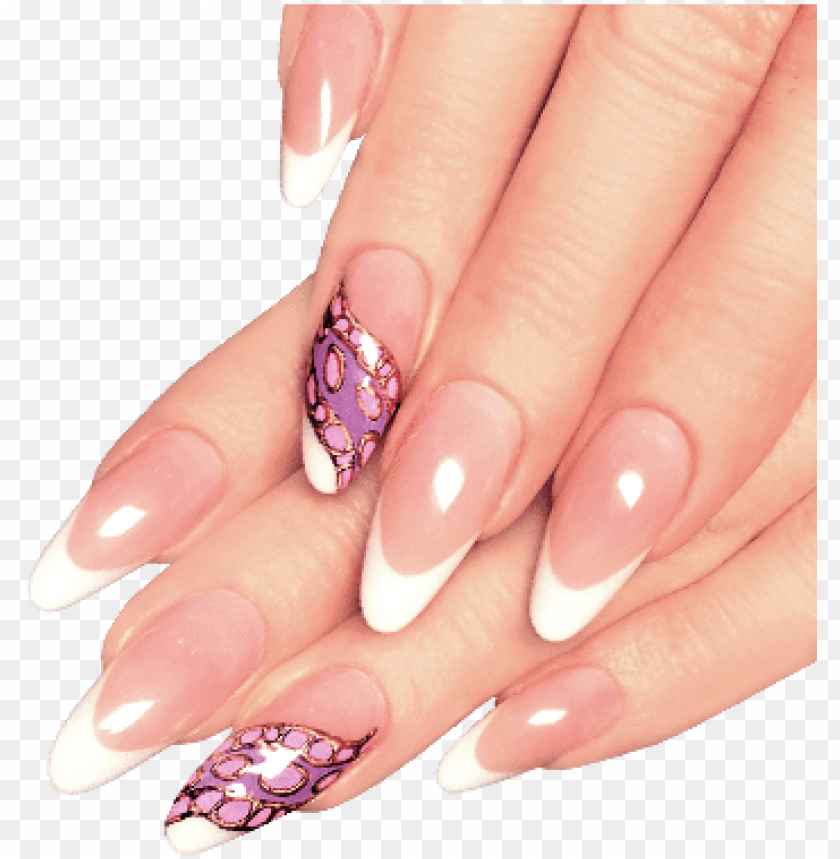 free PNG ail treatments vector library stock - long acrylic nails PNG image with transparent background PNG images transparent