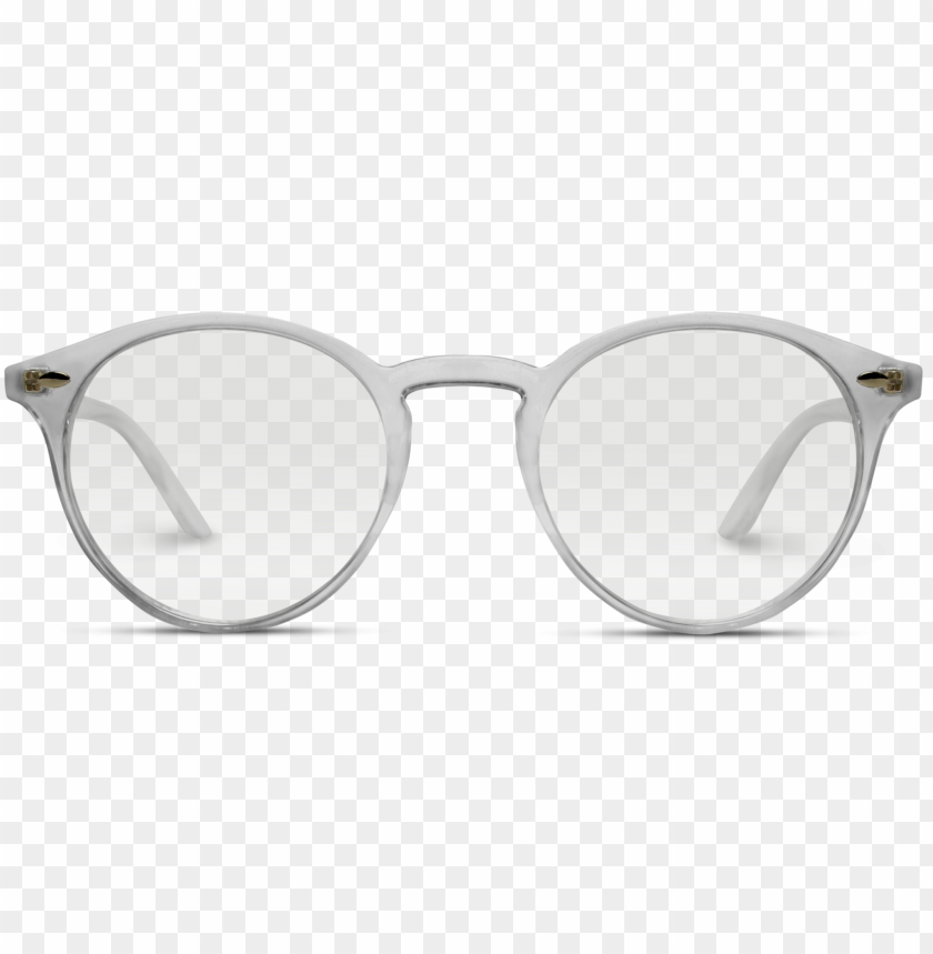 free PNG ainsley transparent round clear frame glasses - glasses PNG image with transparent background PNG images transparent
