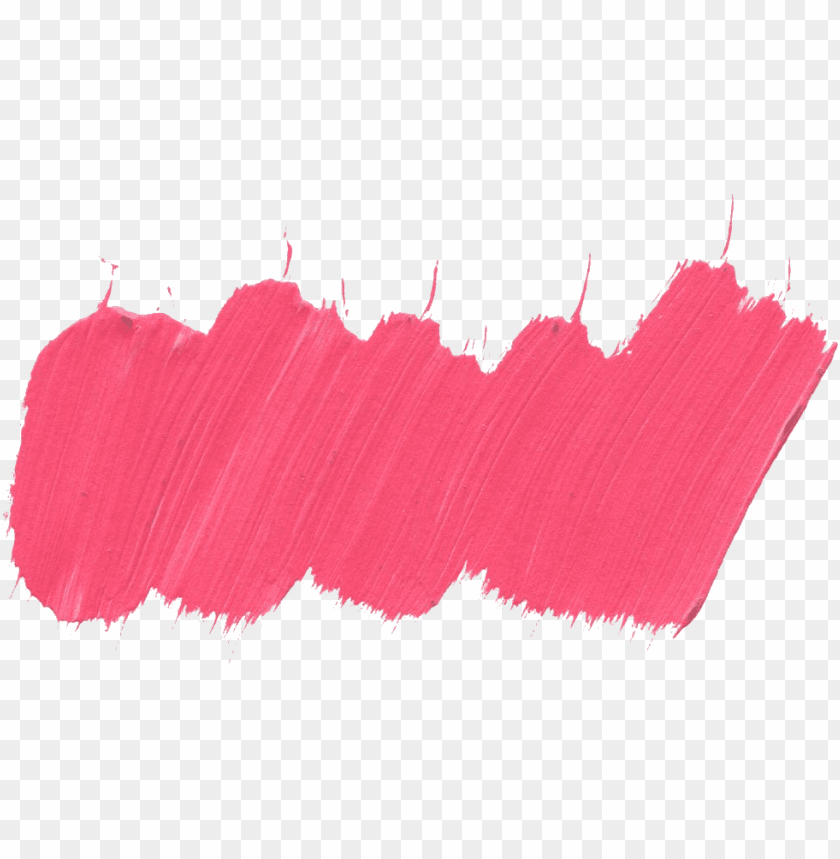 Aint Brush Stroke Png Download Paint Brush Pink Png Image With Transparent Background Toppng