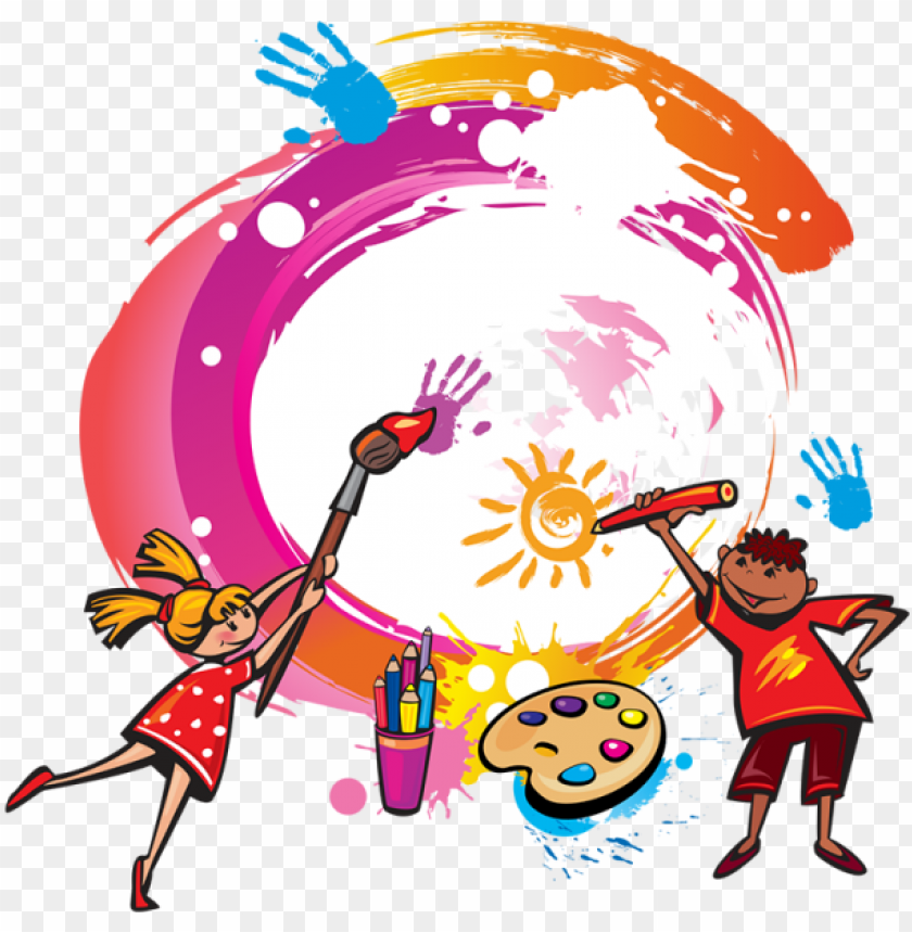 free PNG aint kids painting vector png, kids painting, painting - blank drawing book kids: 8.5 x 11, 120 unlined blank PNG image with transparent background PNG images transparent