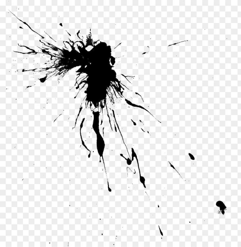 aint splatter splash ink drop splattered, drip silhoue - drawi PNG image with transparent background@toppng.com