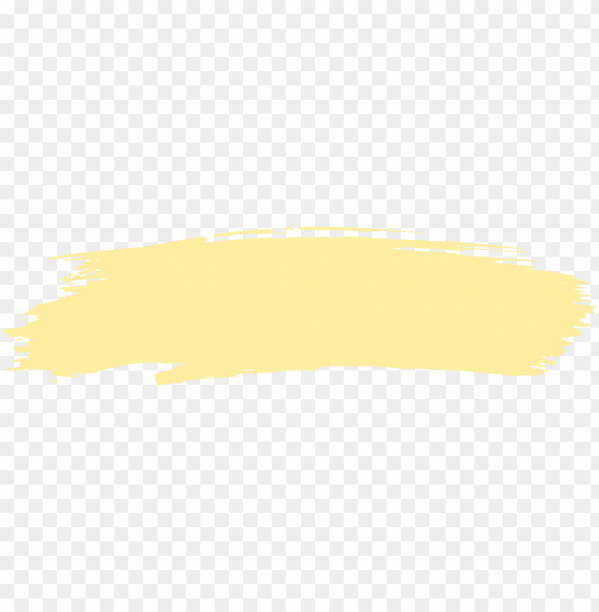 free PNG aint stroke png svg black and white - brush stroke yellow PNG image with transparent background PNG images transparent