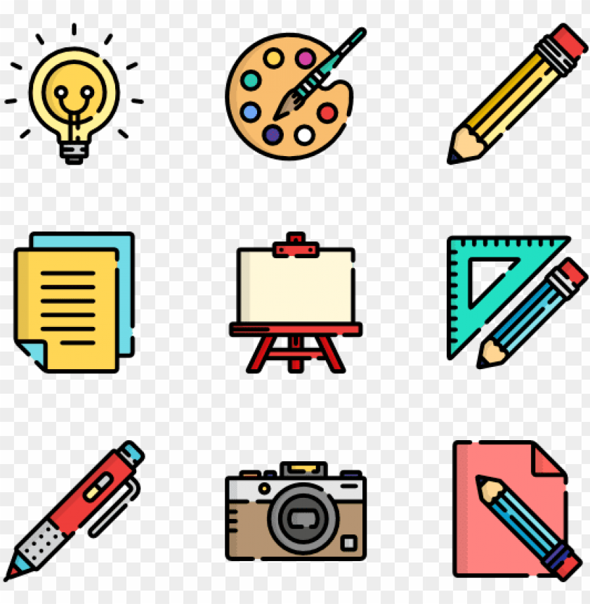 free PNG ainting tools - art tools png vector PNG image with transparent background PNG images transparent