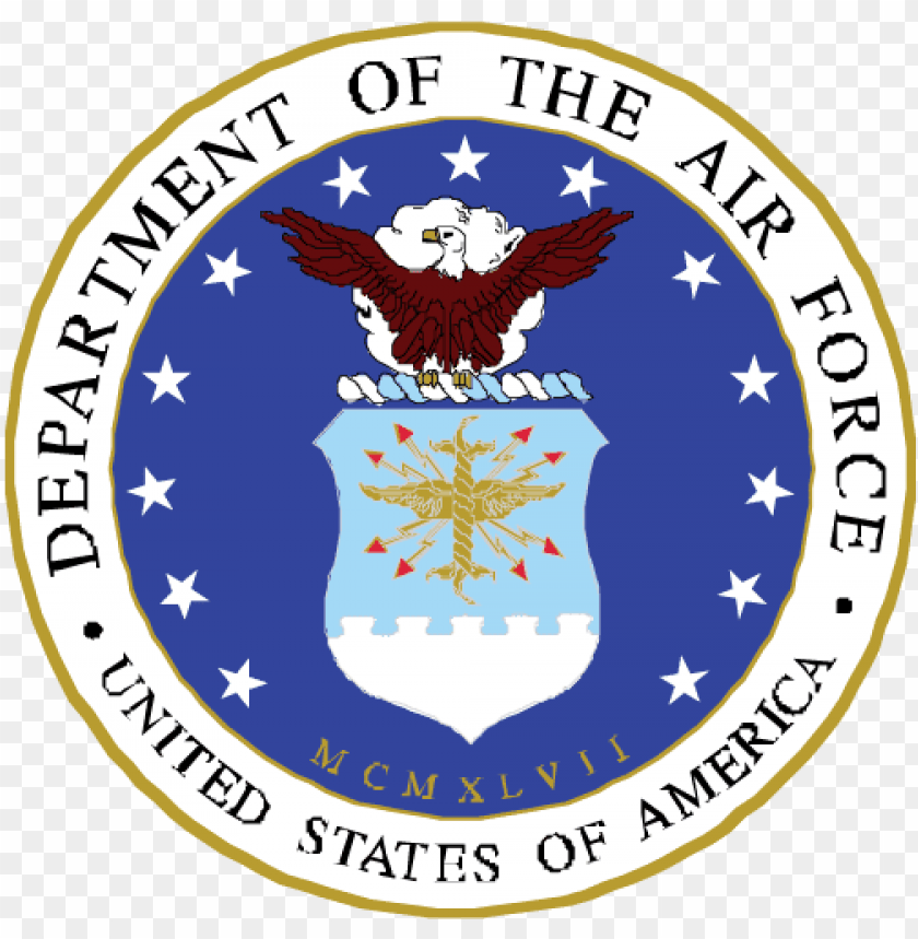 free PNG air force logo transparent - department of the air force sv PNG image with transparent background PNG images transparent