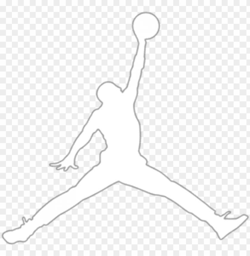 free PNG air jordan logo png clipart black and white - air jordan logo transparent PNG image with transparent background PNG images transparent