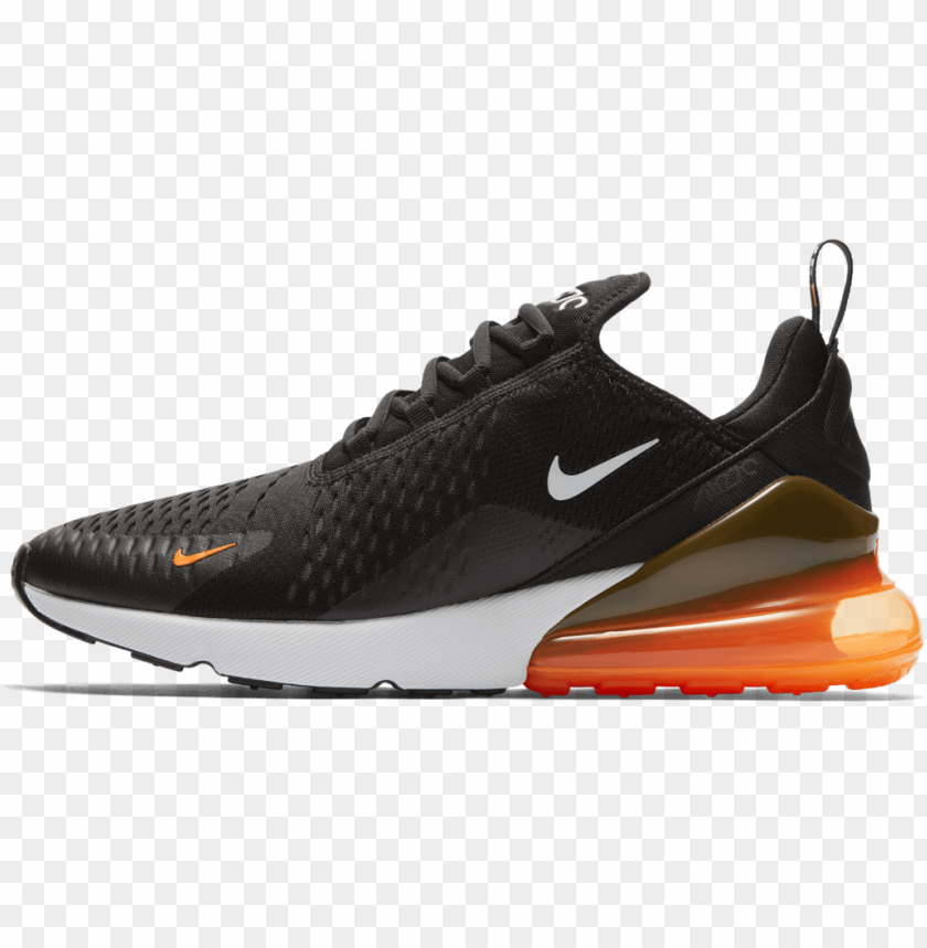"air max 270 ""total orange"" - best nike shoes 2018 PNG image with transparent background@toppng.com"