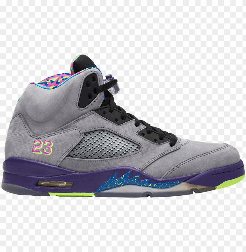 air mens jordan 5 retro 'bel air' sneakers PNG image with transparent background@toppng.com
