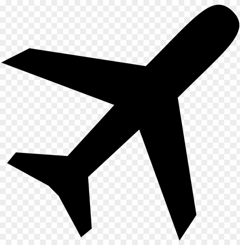 Airplane Flight Plane Icon Symbol Vector Aircraft Sv Png Image