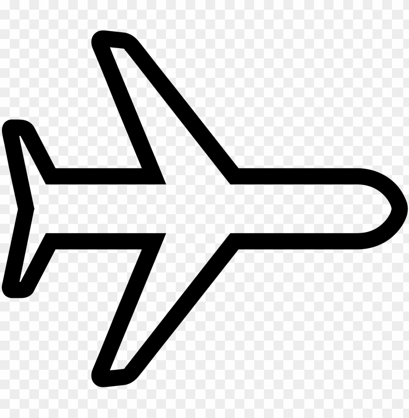 Airplane Icon White Png Image With Transparent Background Toppng