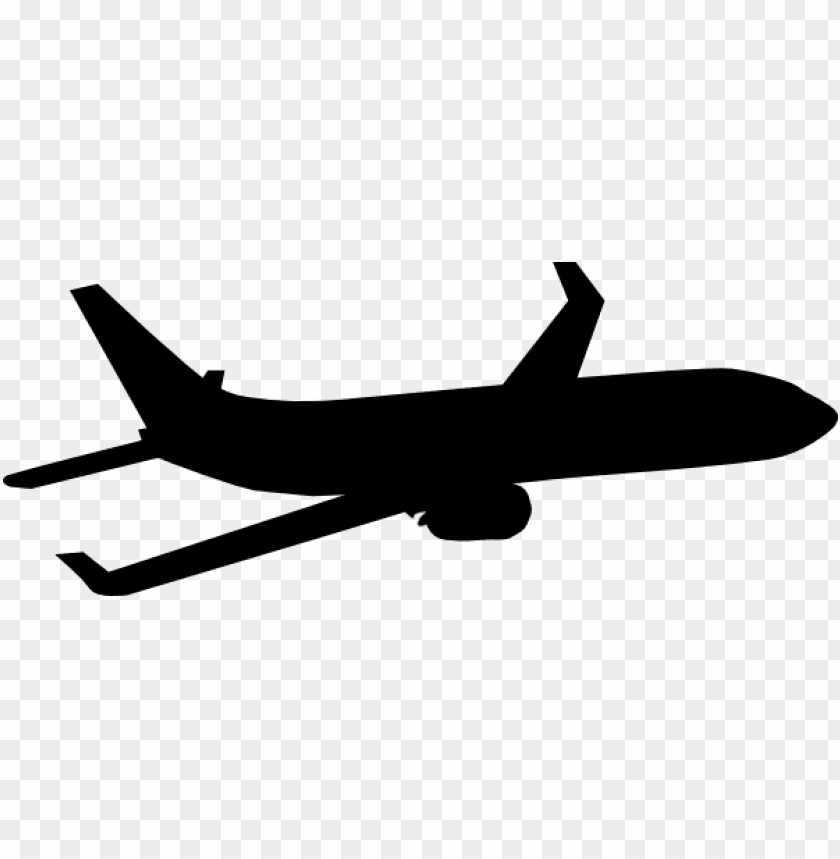 Airplane Silhouette Png Image With Transparent Background Toppng