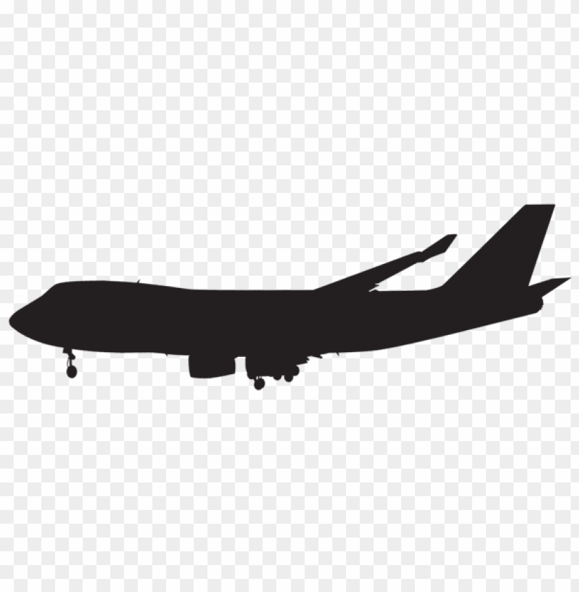 free PNG airplane silhouette png png - Free PNG Images PNG images transparent