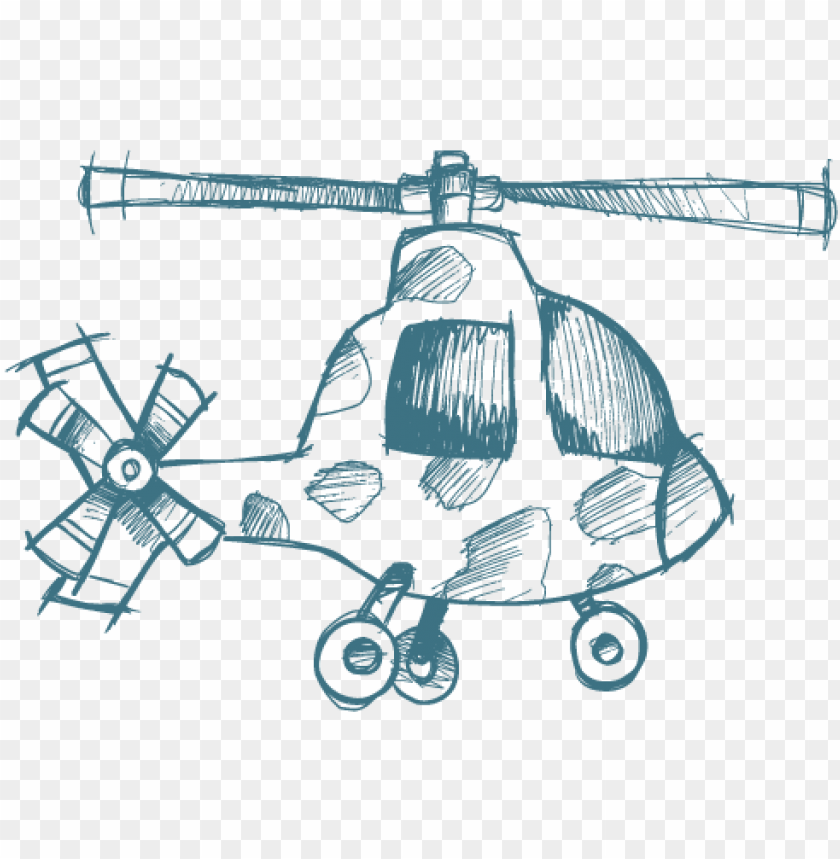 free PNG airplane sketch aircraft cartoon private plane aircraftcartoon - helicopter PNG image with transparent background PNG images transparent
