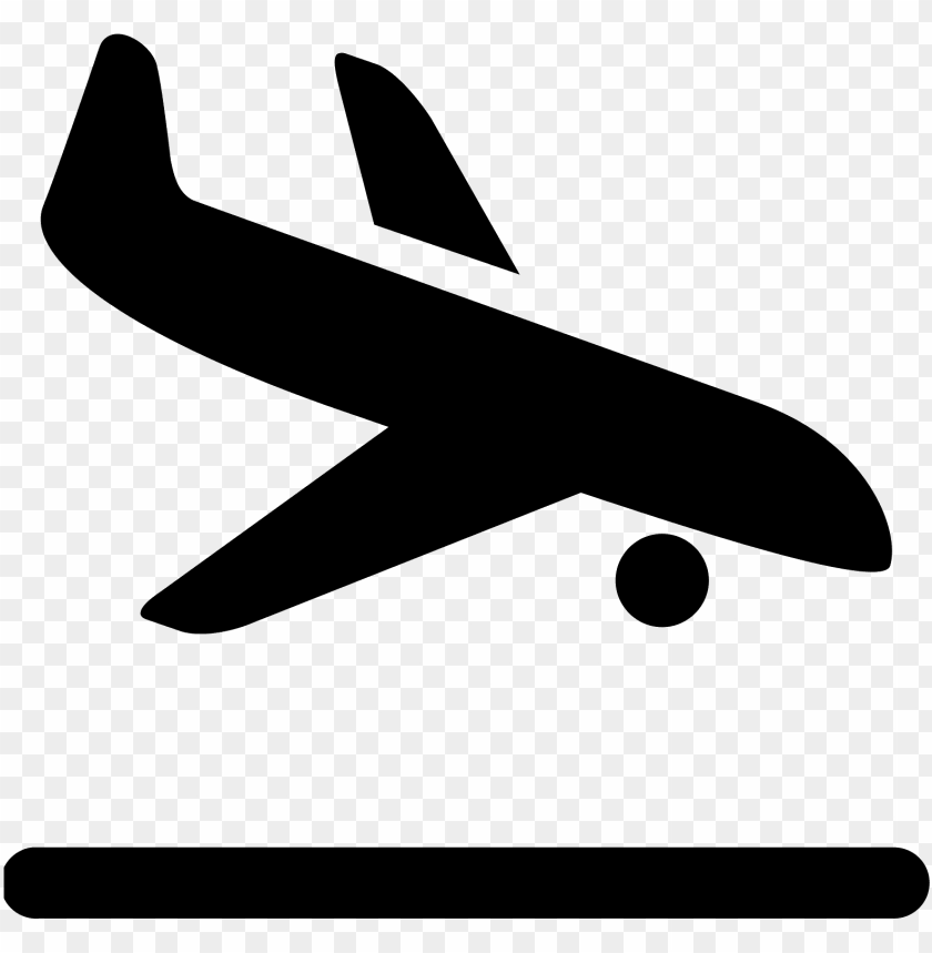 free PNG airplane vector  - airplane icon landing png - Free PNG Images PNG images transparent
