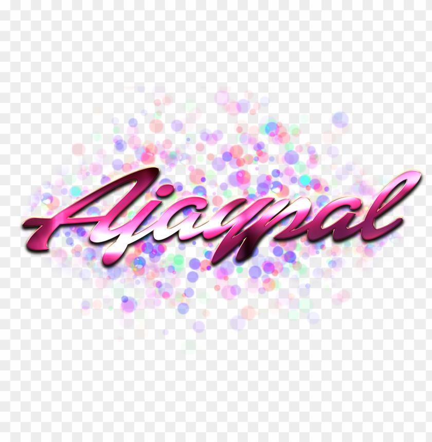 free PNG Download ajaypal name logo bokeh png png images background PNG images transparent