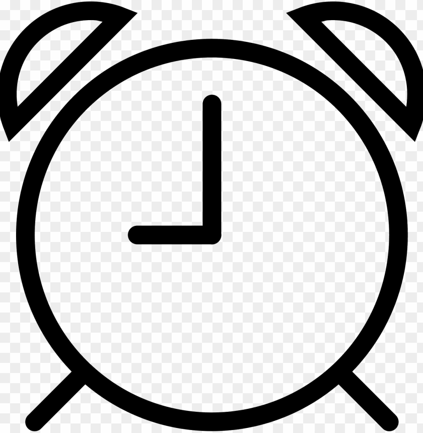 free PNG alarm clock icon - alarm clock vector PNG image with transparent background PNG images transparent