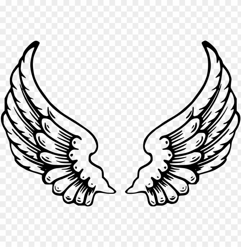 Alas De Angel Dibujos De Alas De Angel Para Colorear Png