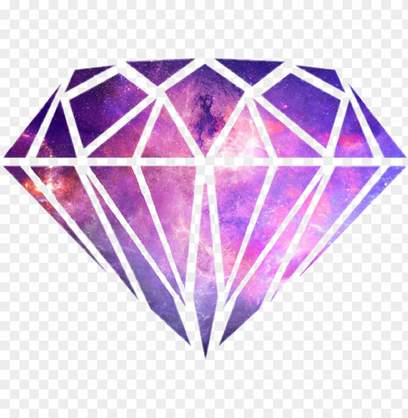alaxy diamond tumblr transparent png galaxy diamond - imagens tumblr png diamante PNG image with transparent background@toppng.com